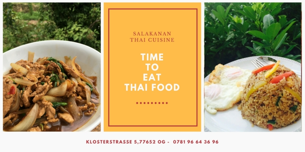 Salakanan THAI restaurant in Offenburg