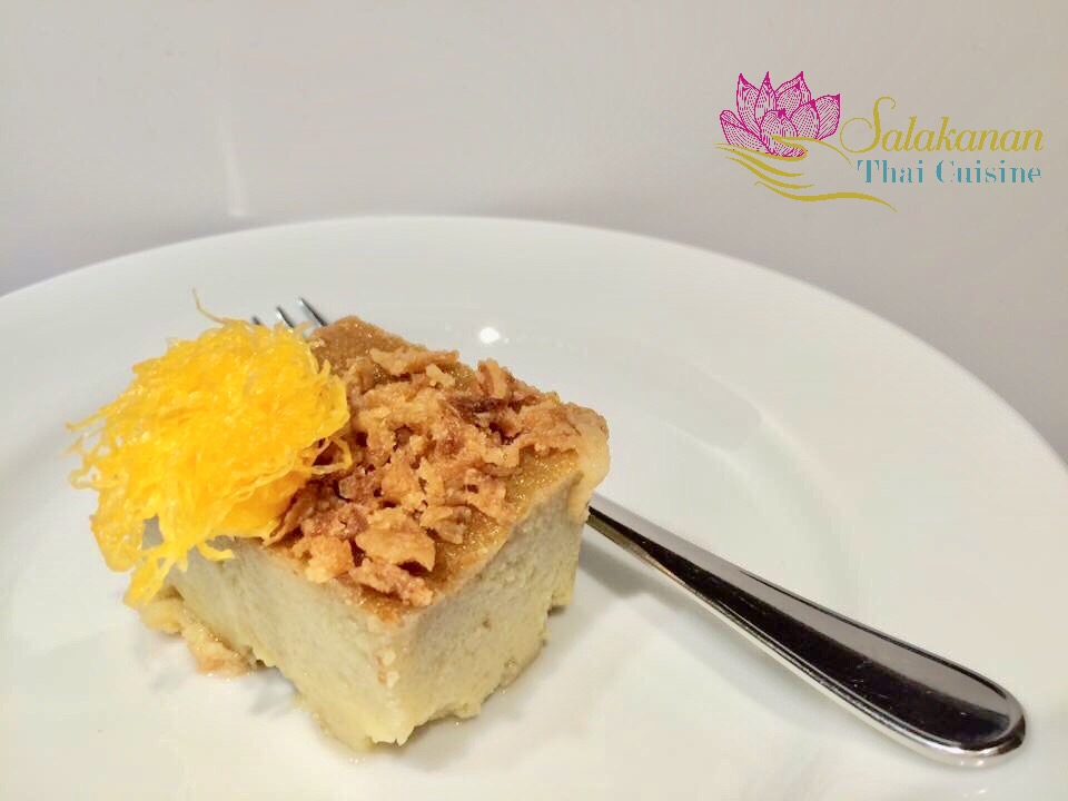 FOI THONG CAKE Salakanan Thai Restaurant Offenburg