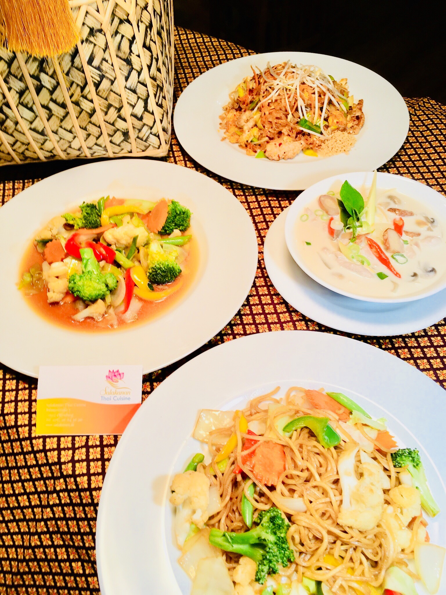 family set Salakanan THAI Restaurant Offenburg