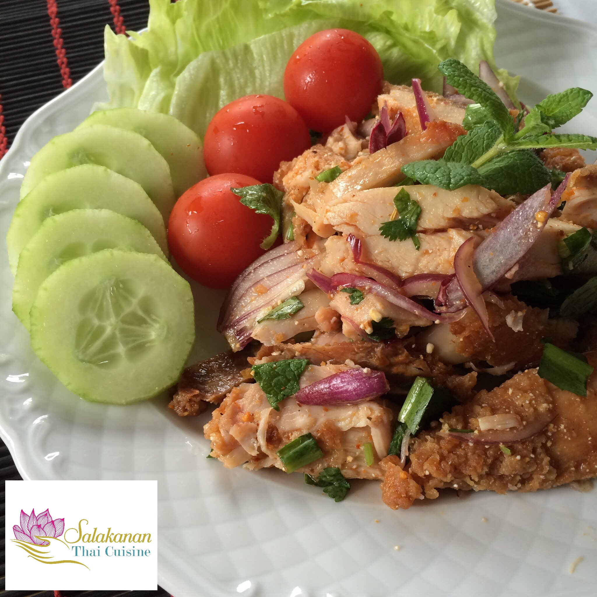 Salakanan thai restaurant offenburg laab gai