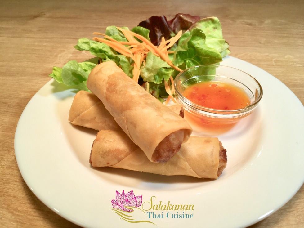 frühlingsrollen snack Salakanan Thai Restaurant Offenburg