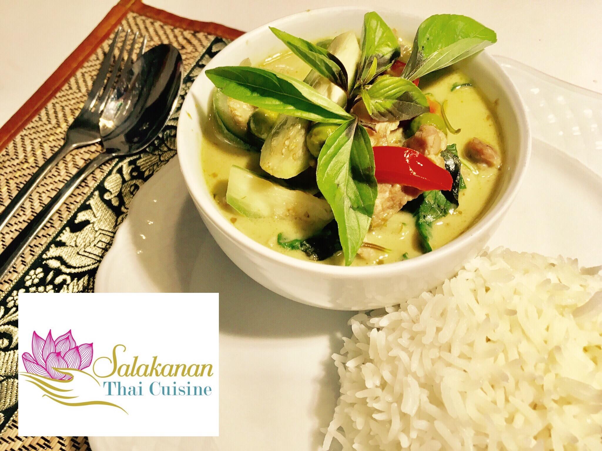 GRÜNER THAI-CURRY Salakanan Thai Restaurant Offenburg