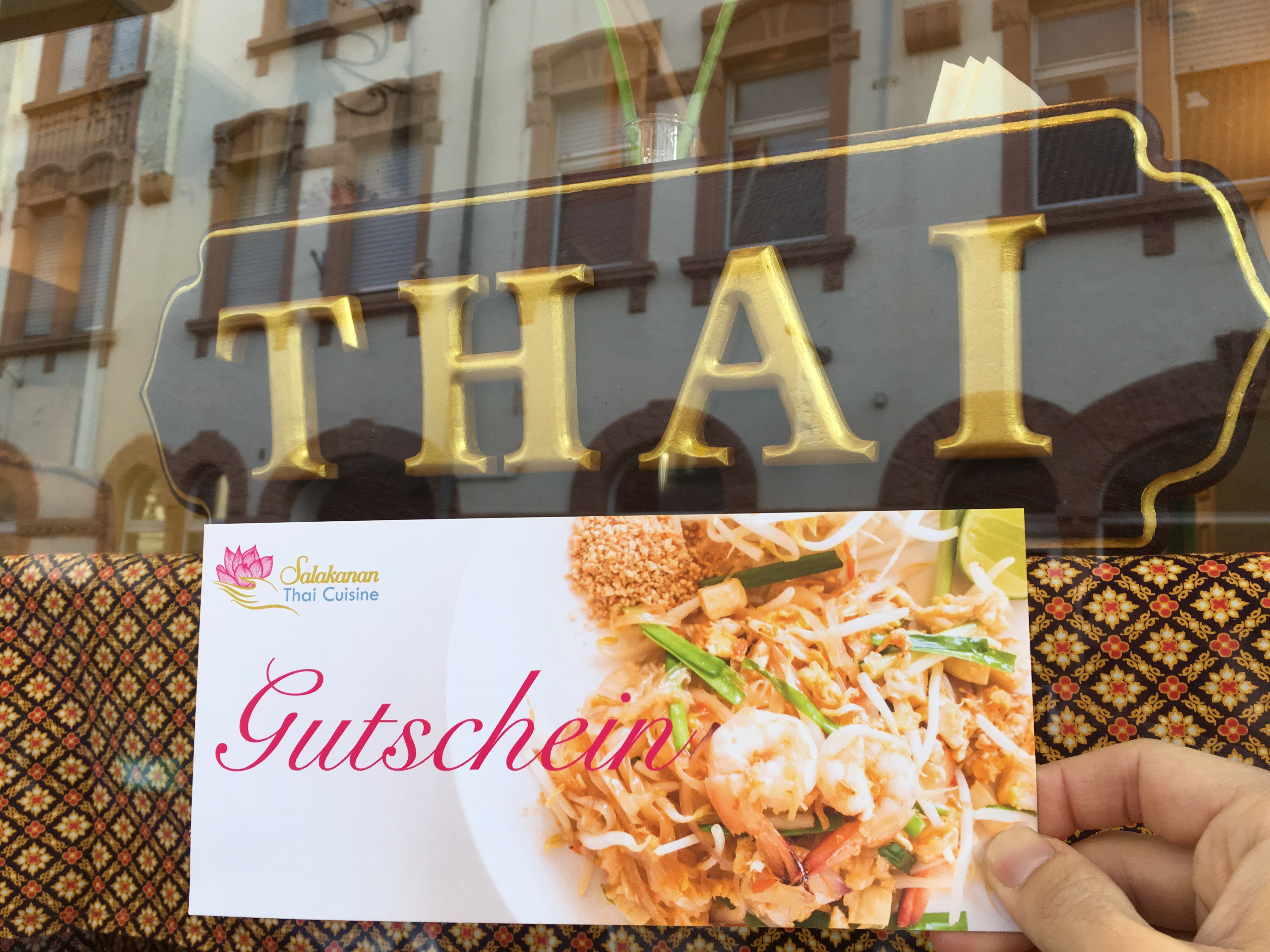 Gutschein Salakanan THAI Restaurant Offenburg