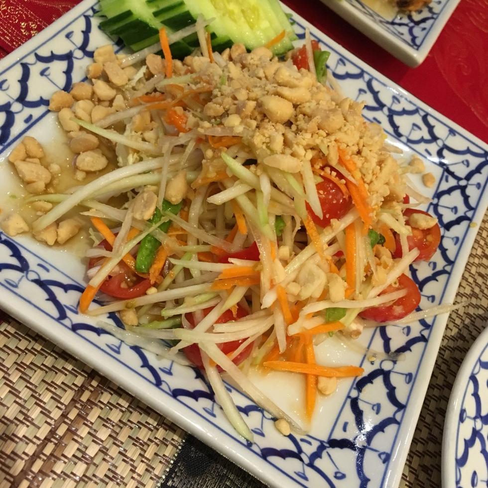 Som Tam Papaya Salat Salakanan THAI cuisine imbiss restaurant offenburg ortenau schwarzwald deutschland