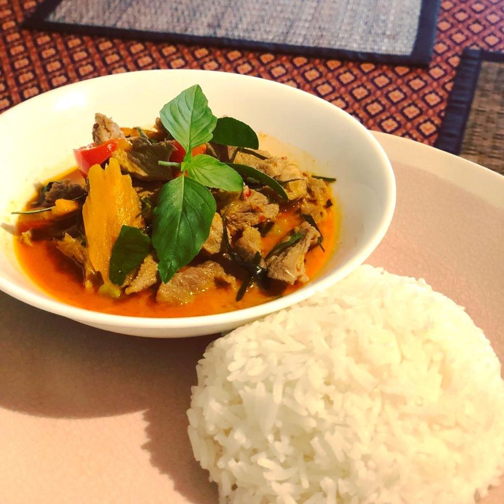 panaeng curry thai lunch salakanan offenburg restaurant