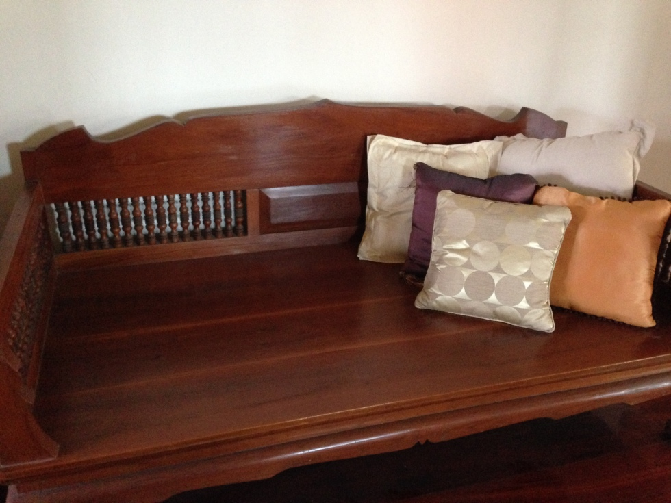 teak wood sofa 55 years